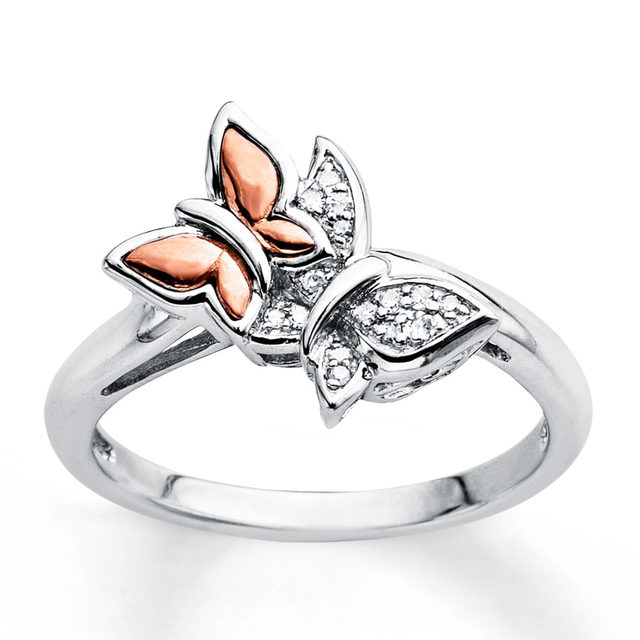 rings butterfly ring elegant zircon ri rose black gold insect from accessories wedding tanzanite diamonds product wholesale plated crystal jewelry