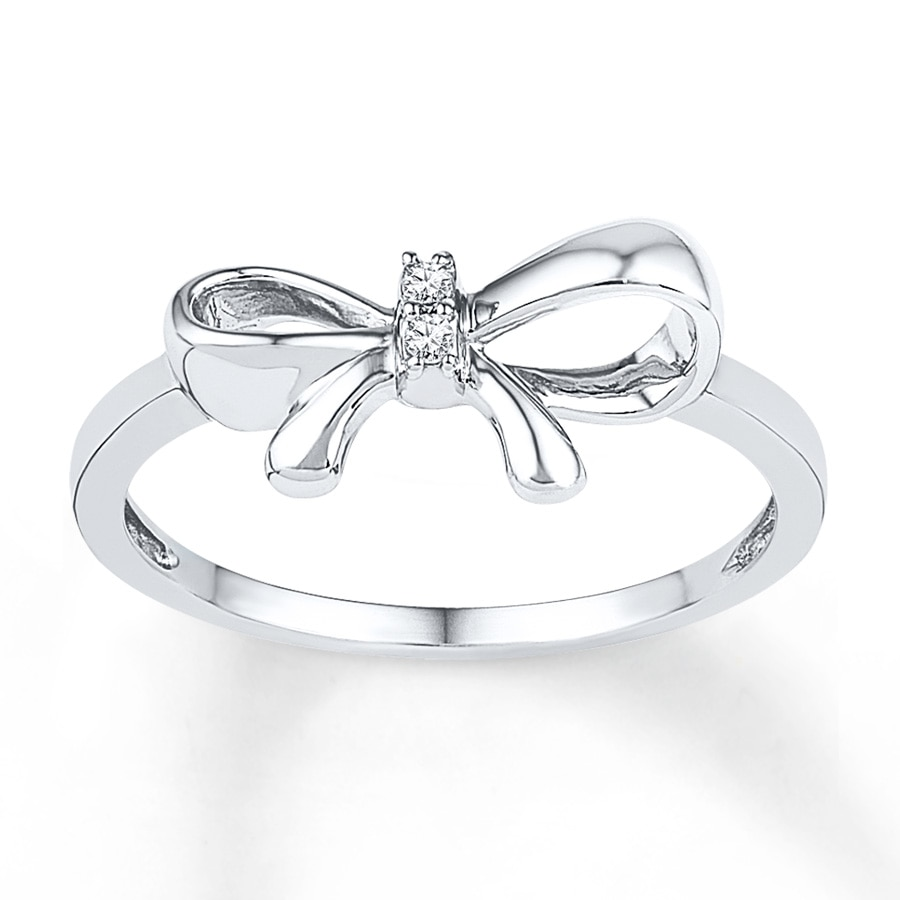 european rings sterling engagement accessories fits for from wedding brand jewelry in item ring crystal women silver bow