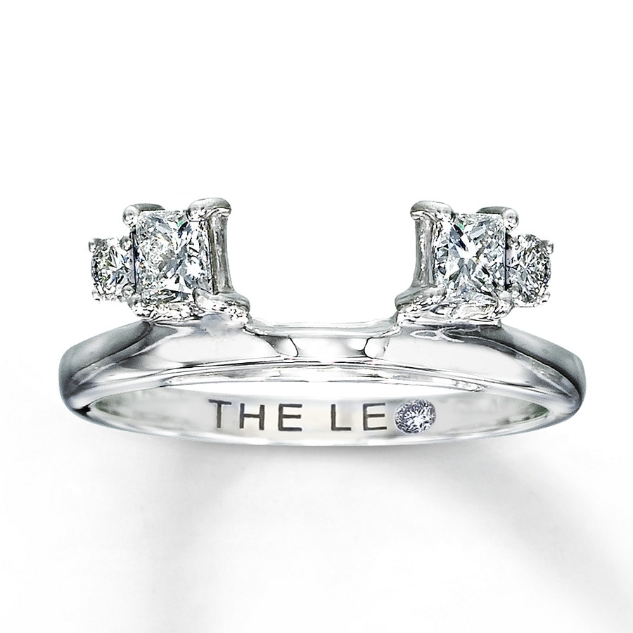 Email Leo Diamond Enhancer Ring 12 carat tw 14K White Gold