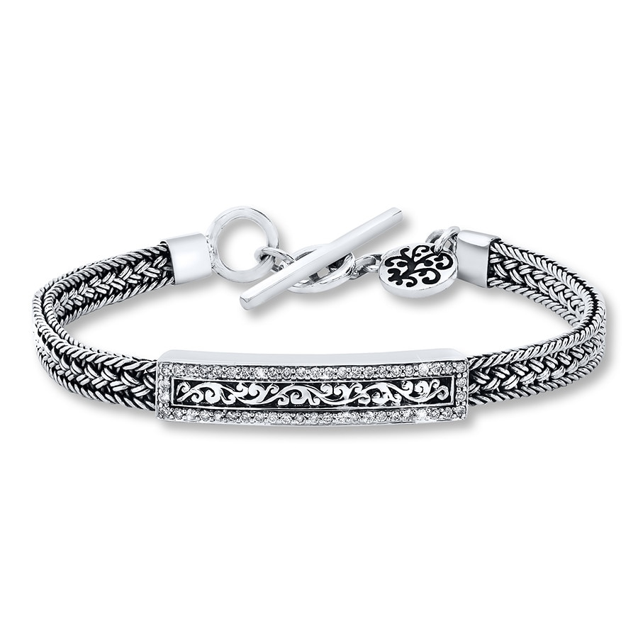 Jared Lois Hill Bracelet 12 ct tw Diamonds Sterling Silver