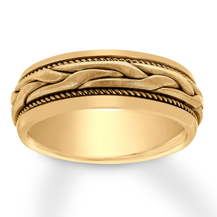 05296b747 Men's Wedding Band 14K Yellow Gold 8mm - 12047650899 - Jared