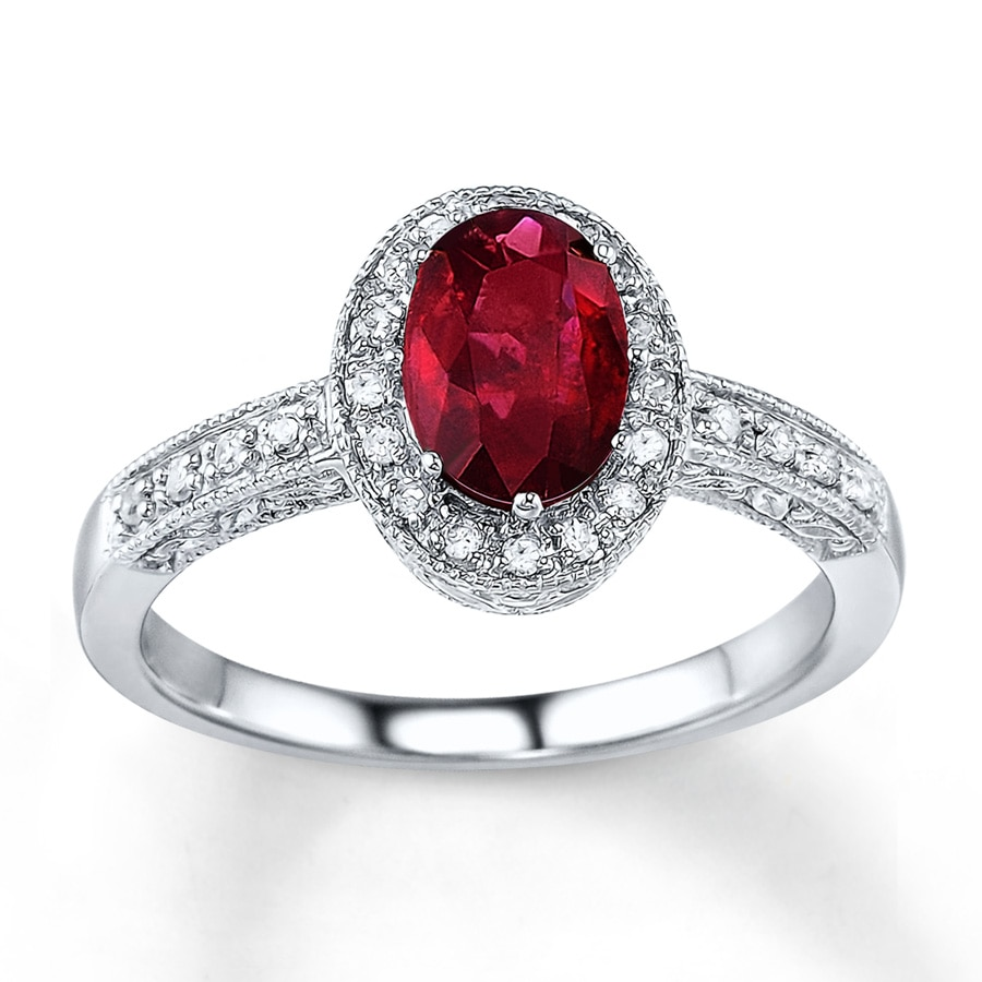 in oval gold ct rose for tw ruby natural ring shop p jewellery