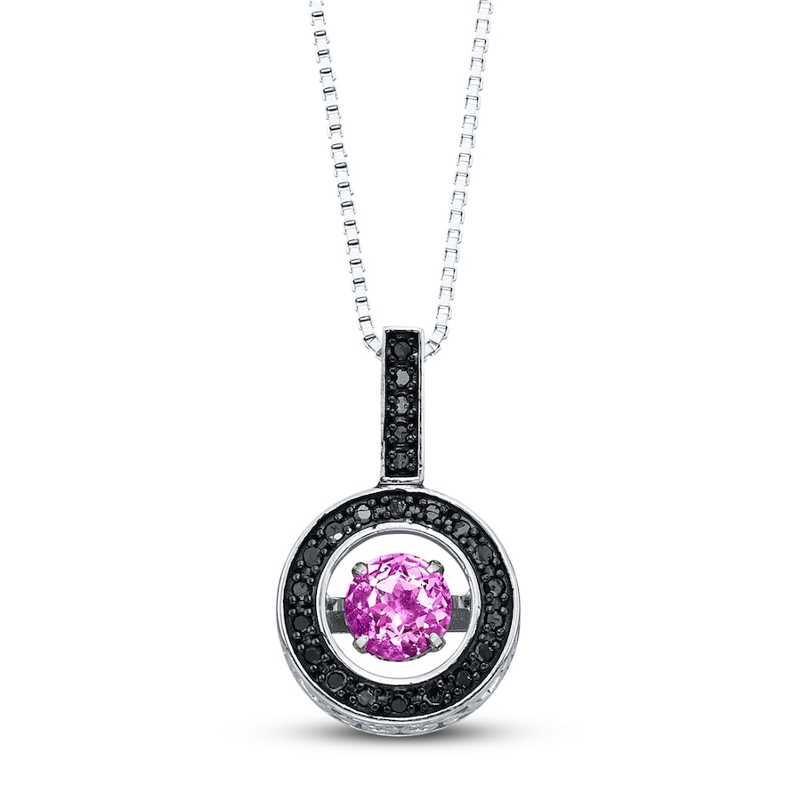 jared colors in rhythm necklace 1 8 ct tw diamonds