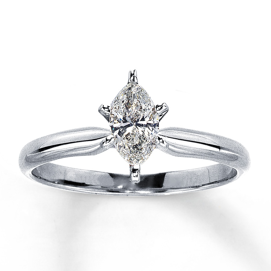 Carat White Gold Diamond Ring