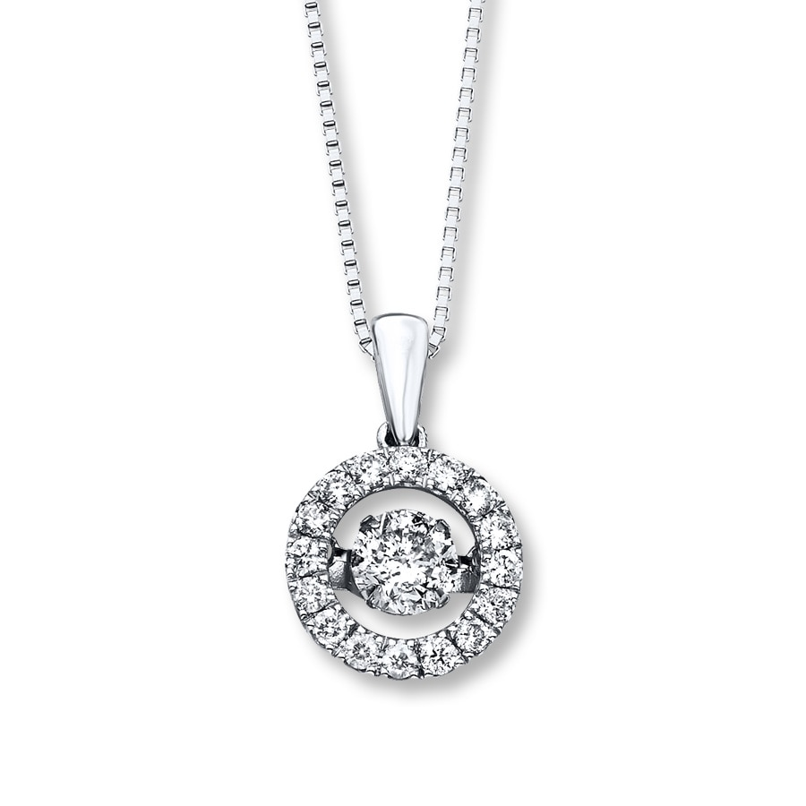 Jared Diamonds in Rhythm 1 ct tw Necklace 14K White Gold