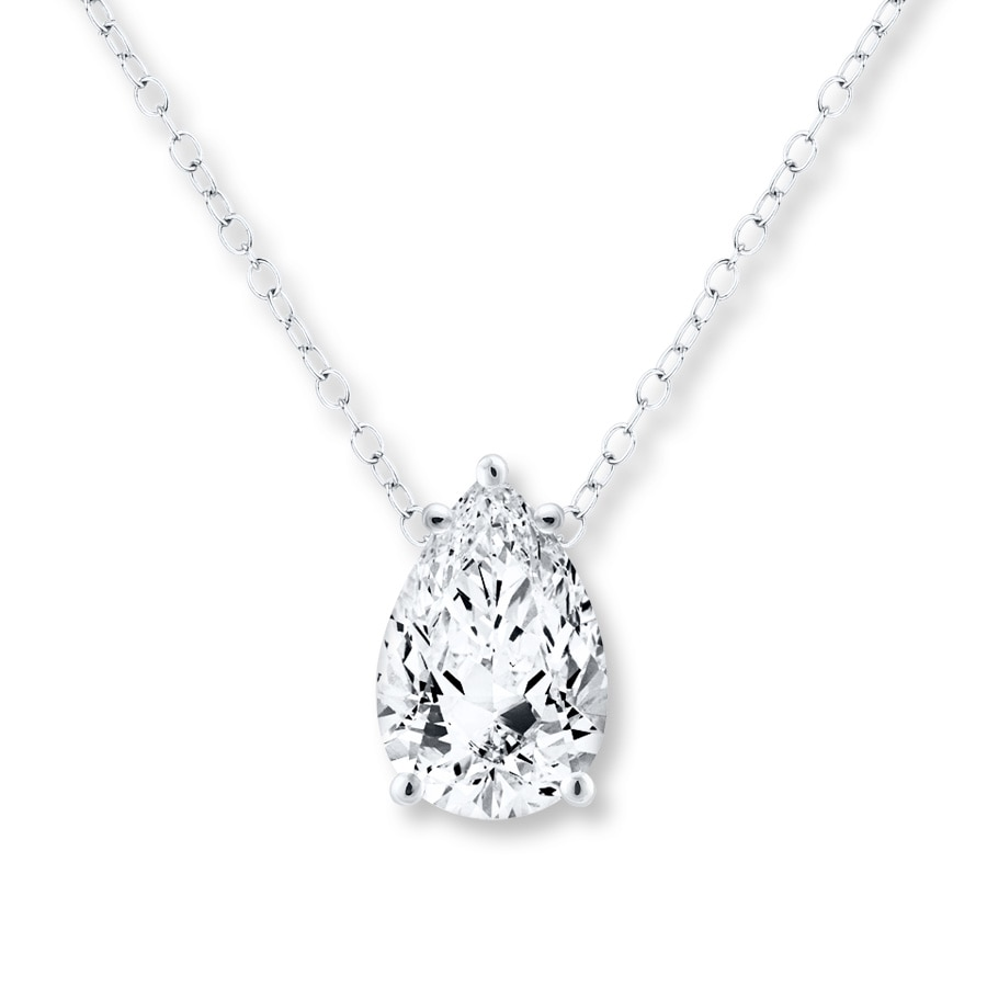 pendant shaped pear diamond sku white gold with necklace solitaire cut set bezel pendants