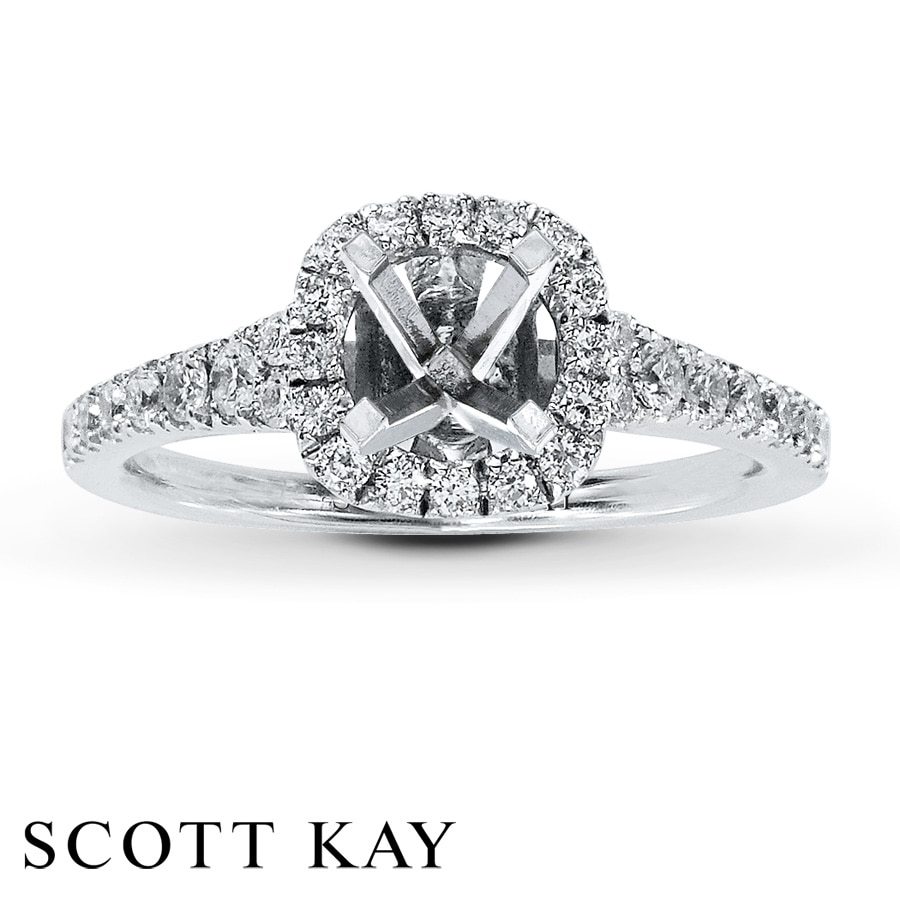 hover to zoom - Scott Kay Wedding Rings