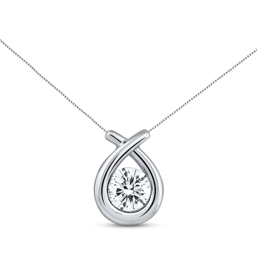 h ct g eg lab clarity round shape diamond carat certified tw necklace white