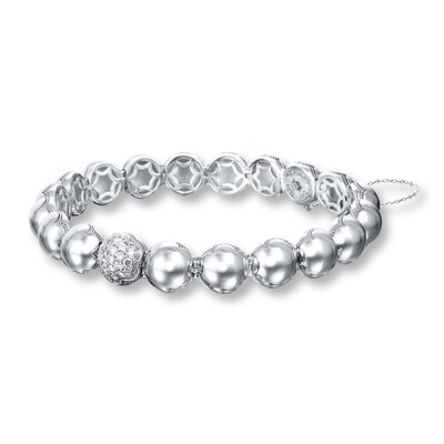 Tacori Bracelet 3/8 ct tw Diamonds Sterling Silver/18K Gold