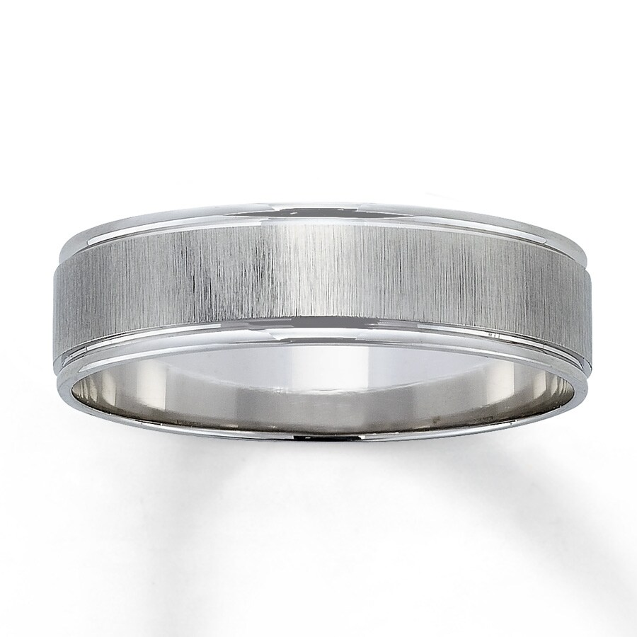 white gold sterling band x silver solid bands products or