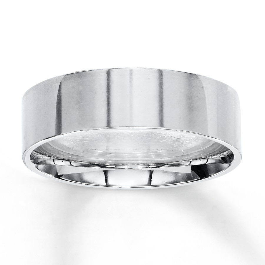 Jared Men s Wedding Band 10K White Gold
