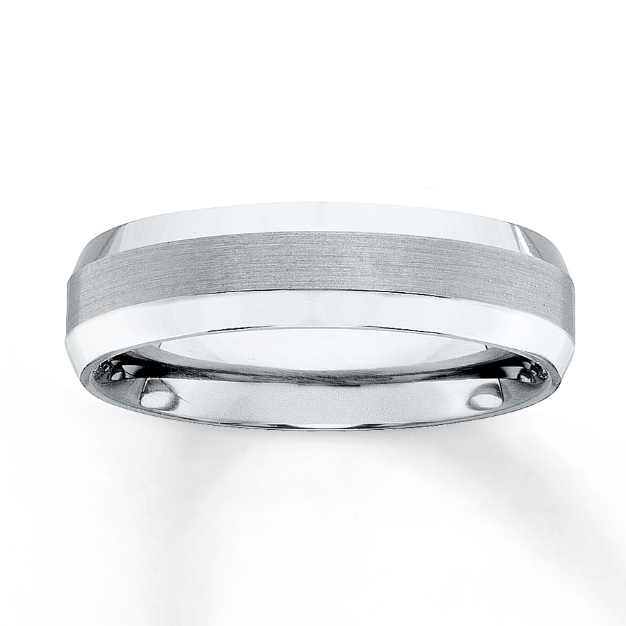 jared men 39 s wedding band titanium 6mm