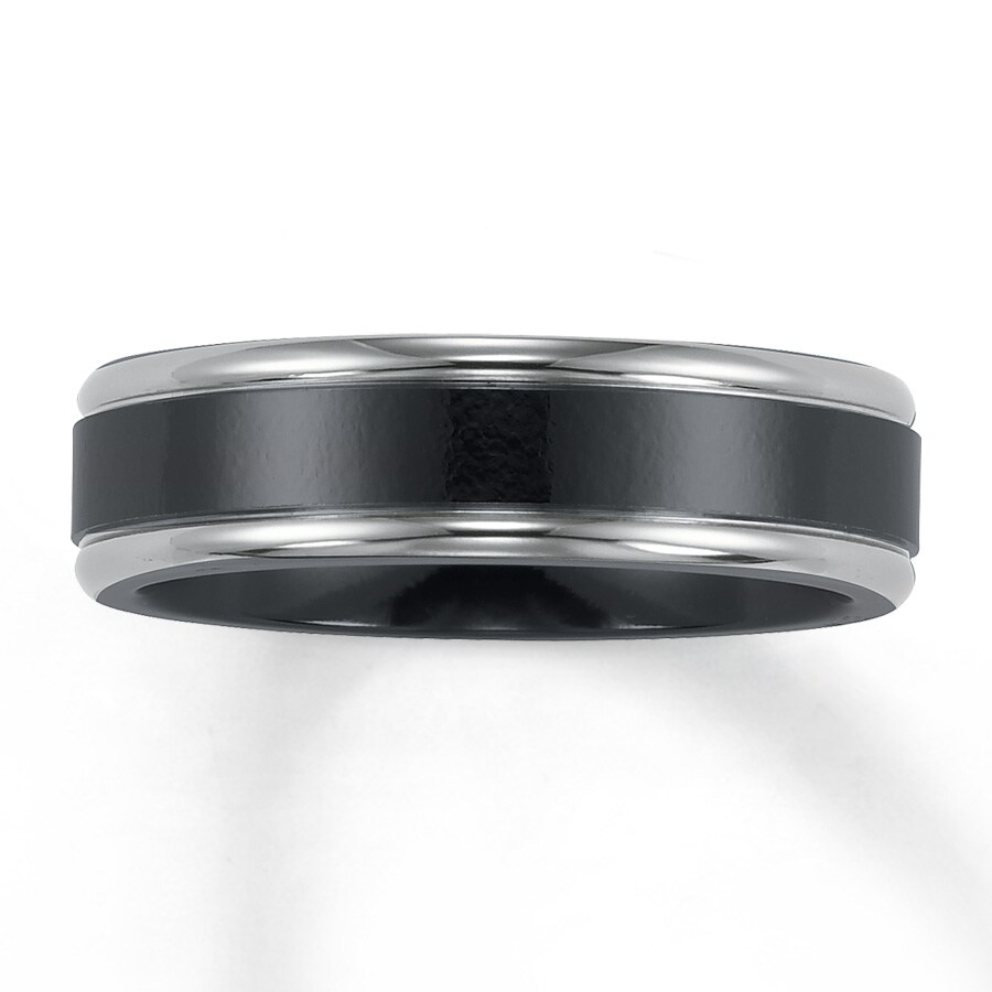 triton band com black j men wedding i three s color diamond amazon dp tungsten rings