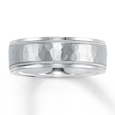 Jared Wedding Band Palladium 7mm- Rings