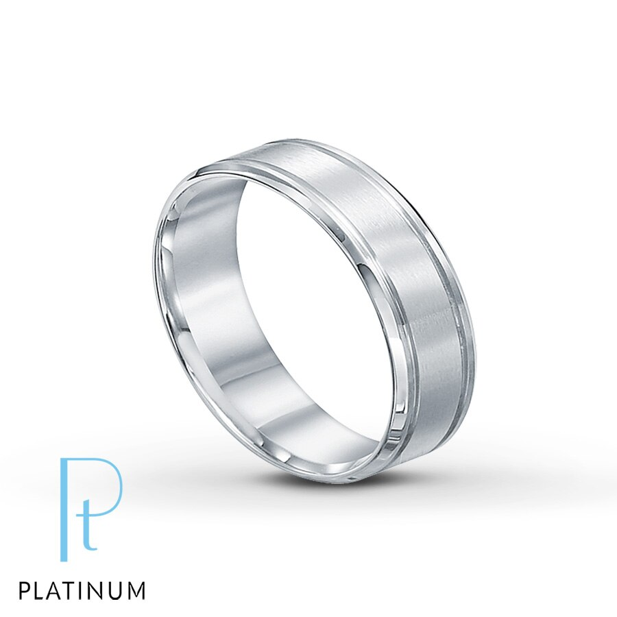 Platinum Wedding Band For Her Tap To Expand
