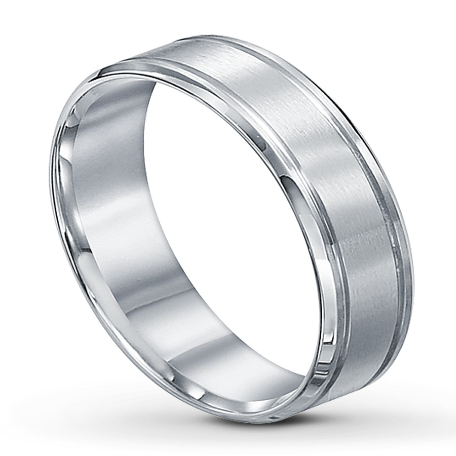 jared men 39 s wedding band platinum