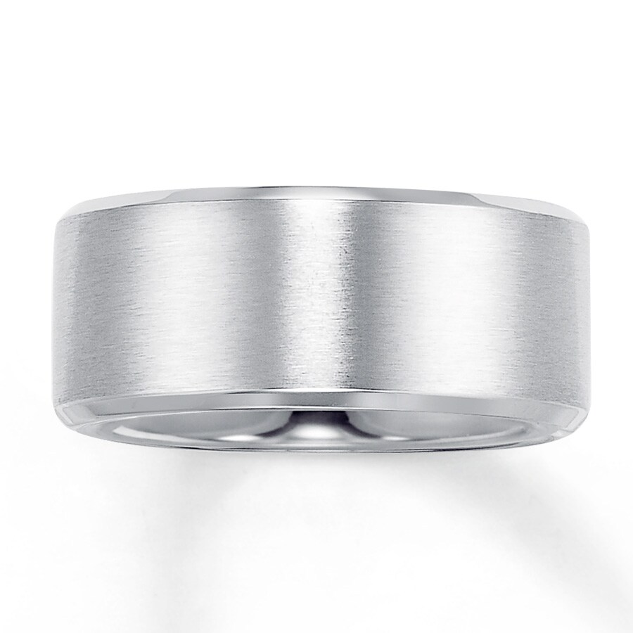 Men's Wedding Band Stainless Steel 10mm