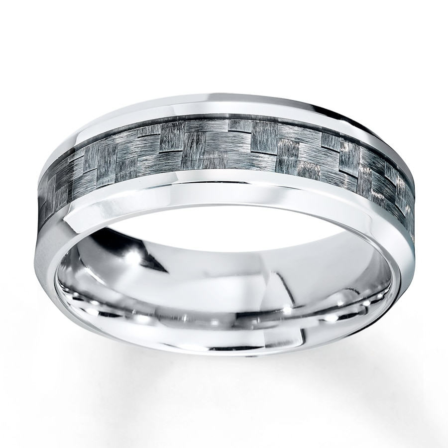 Jared Men s Wedding Band Stainless Steel 8mm