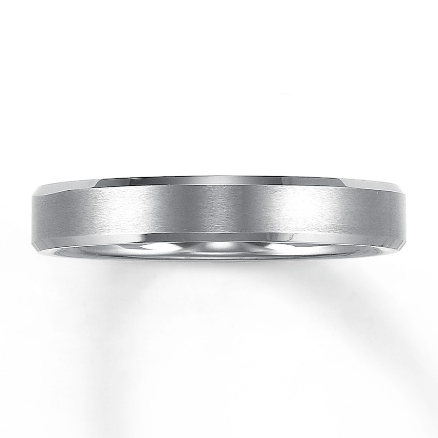 Men's Wedding Band Tungsten Carbide 3mm