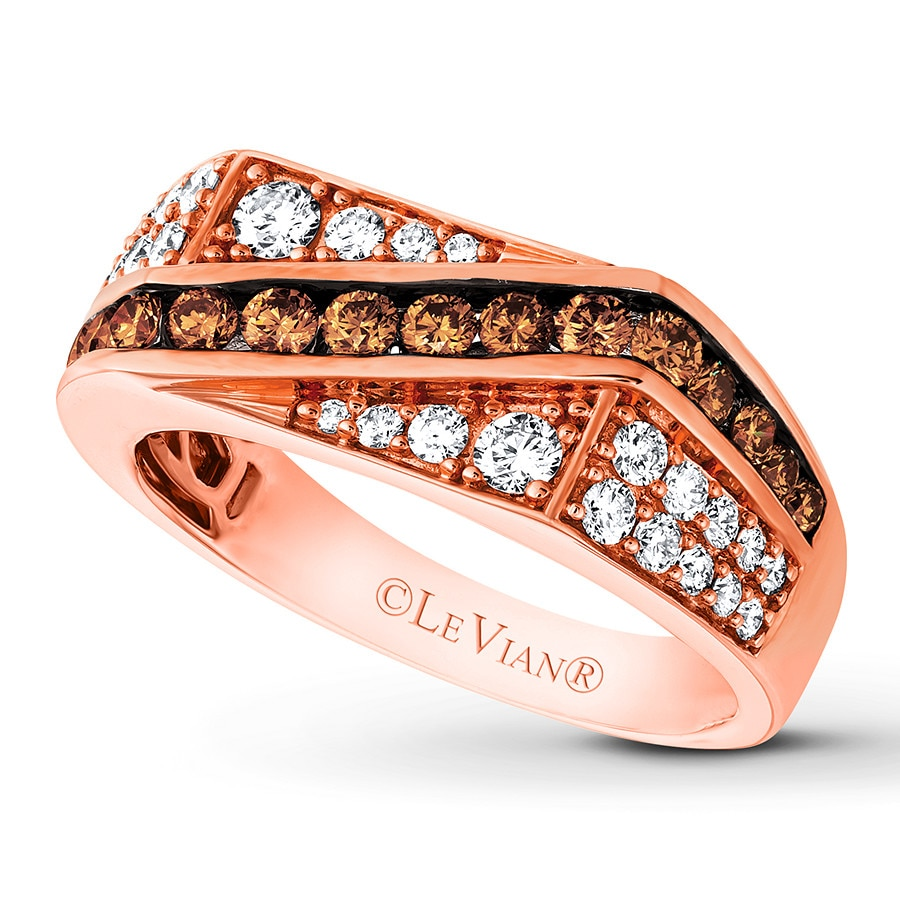 ae sides tw ct w diamond strawberry rings t vian p gold frame diamonds le ring wedding tri chocolate trisides v