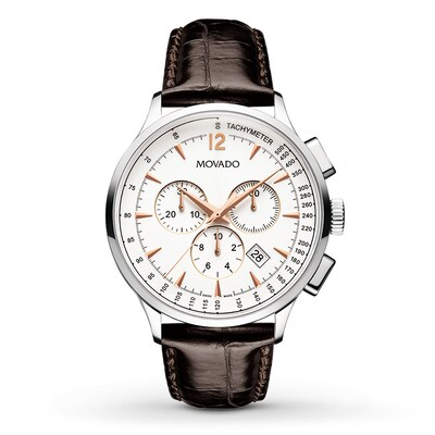 Movado Men's Watch Circa Chronograph 606576- Men's Watches