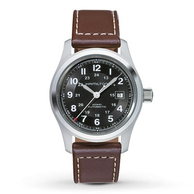 Jared Hamilton Men's Watch Khaki Field  H70555533- Men's Watches