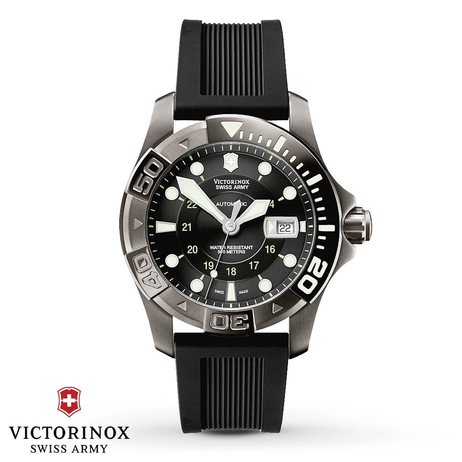 dive chronograph swiss divemaster watches master victorinox army pin