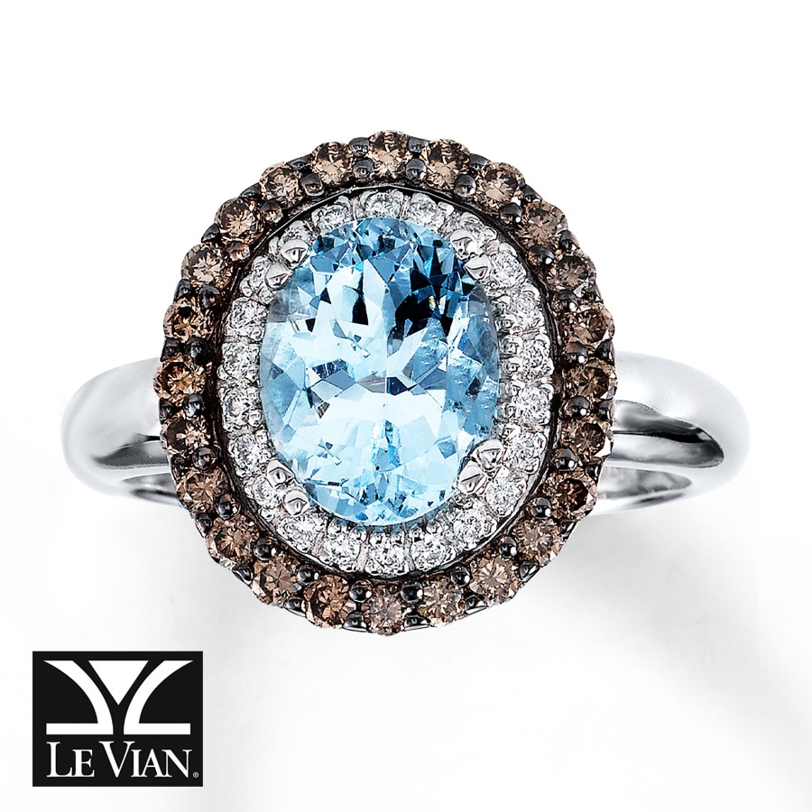 Aquamarine Rings Macys le Vian Aquamarine Rings