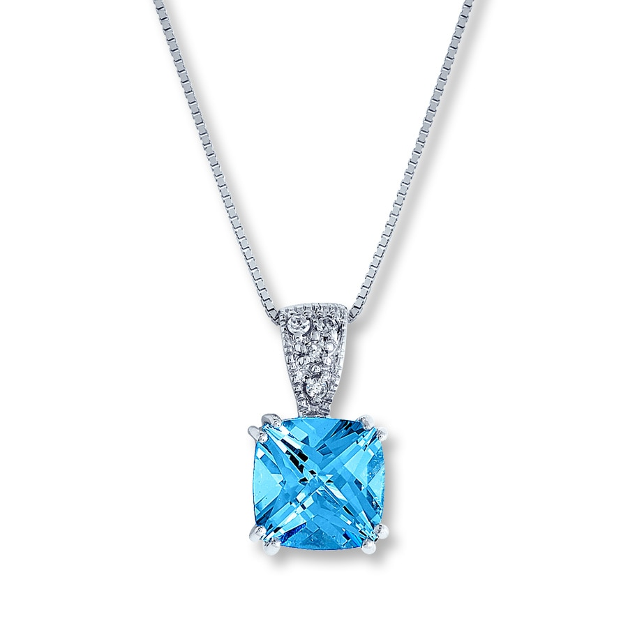 necklace sterling com swiss shape topaz amazon heart carats dp silver pendant blue