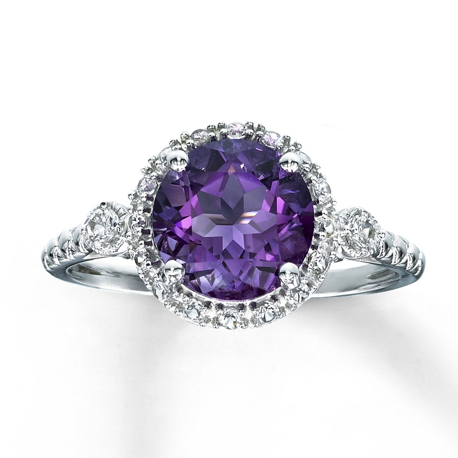 amethyst rings - photo #22