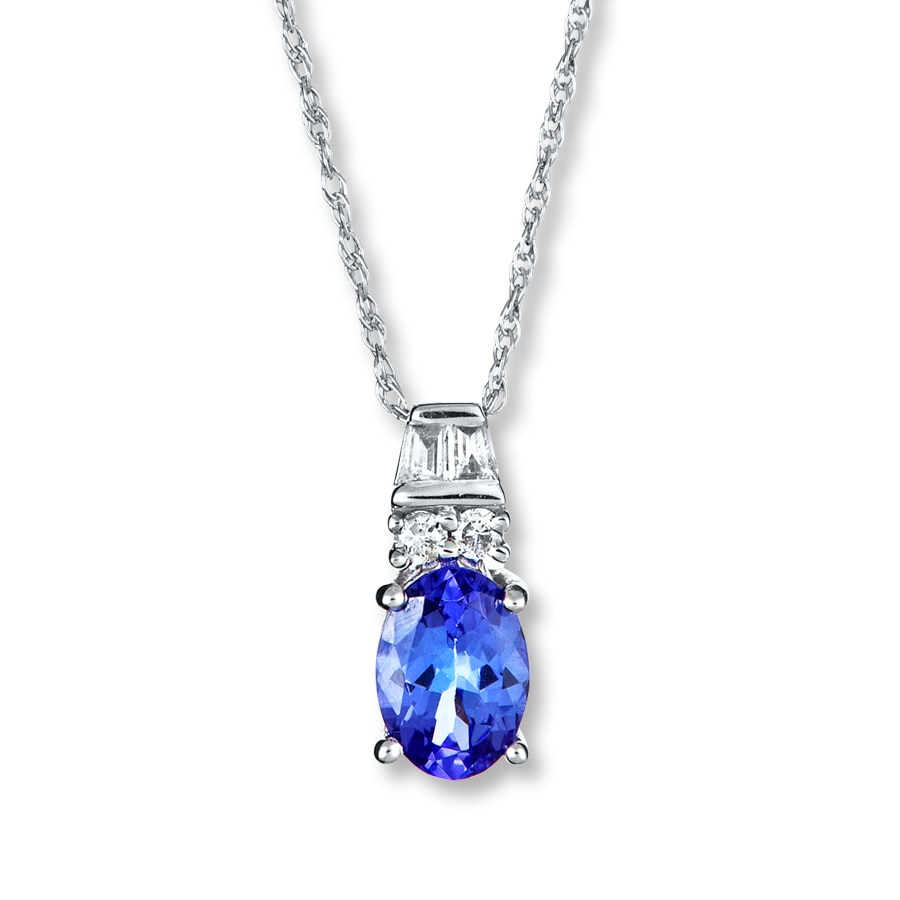 swarovski oceanic ladies tanzanite pendant