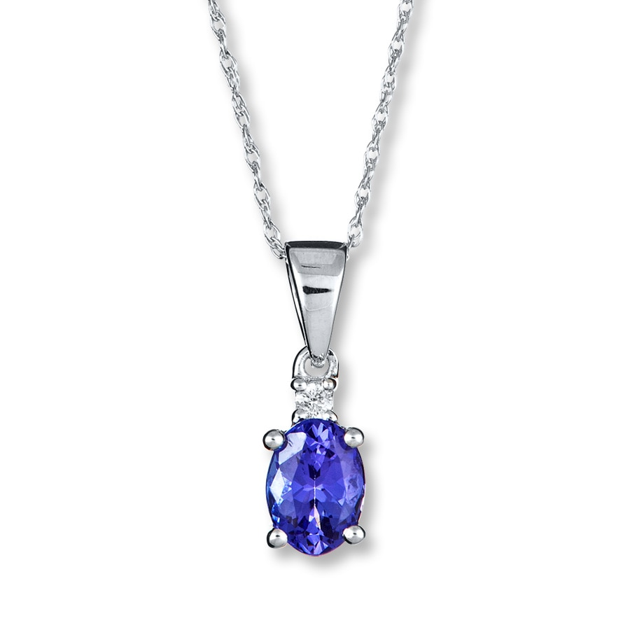 clifford products avery tanzanite pendant cert jenna un