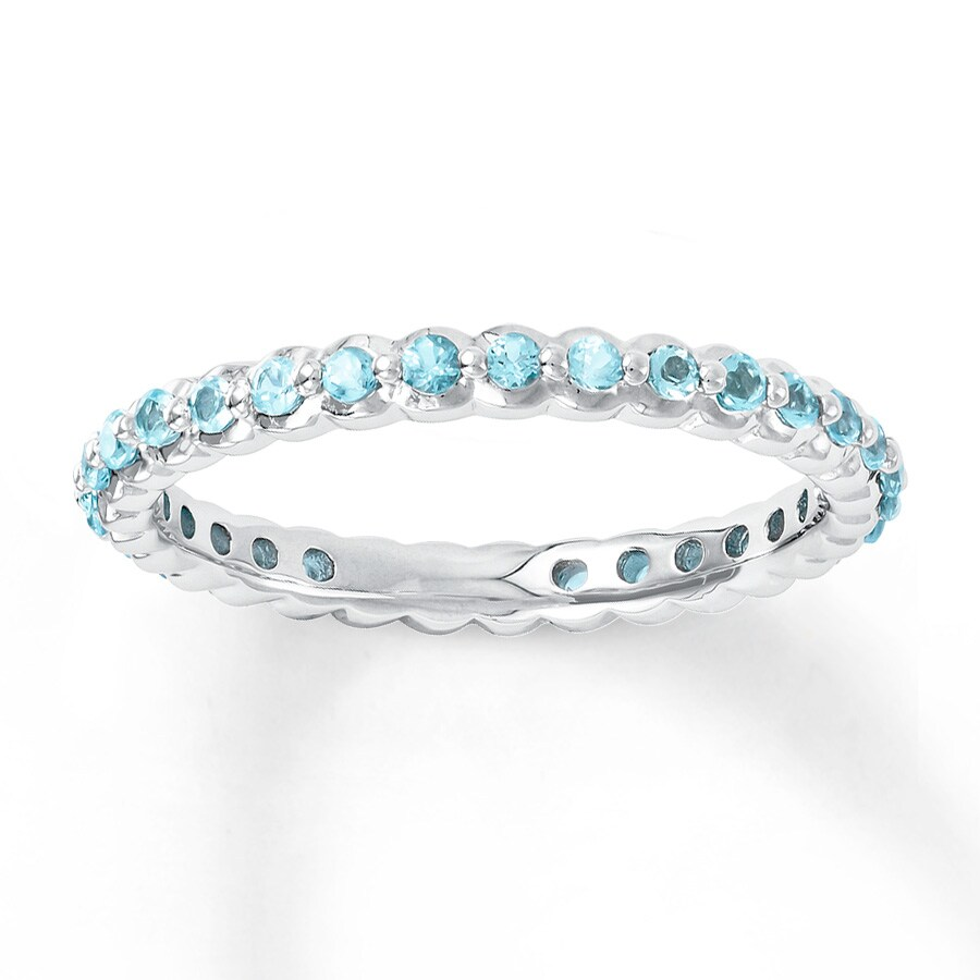 Topaz Stackable Ring