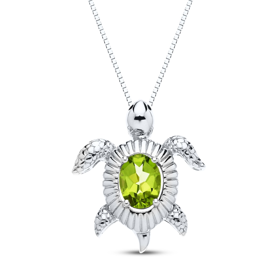 slider sterling il birthstone jewelry silver etsy peridot necklace market august