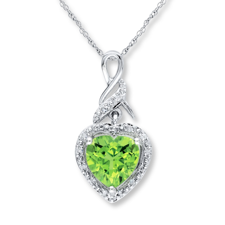 august with topaz gemstone birthstone pendant silver sterling peridot bridal media in necklace jewelry accent