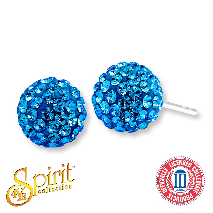 Jared University of Delaware Sphere Earrings Sterling Silver