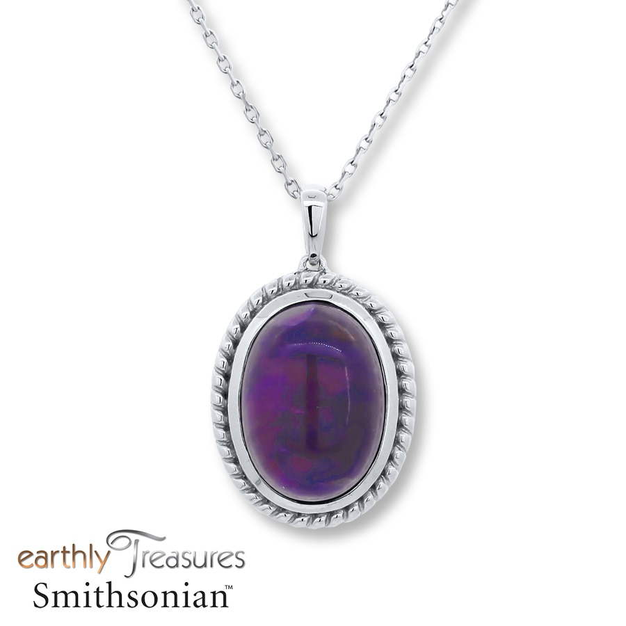 family includes si genuine purple pendant chain sugilite pretty earth sterling in products silver