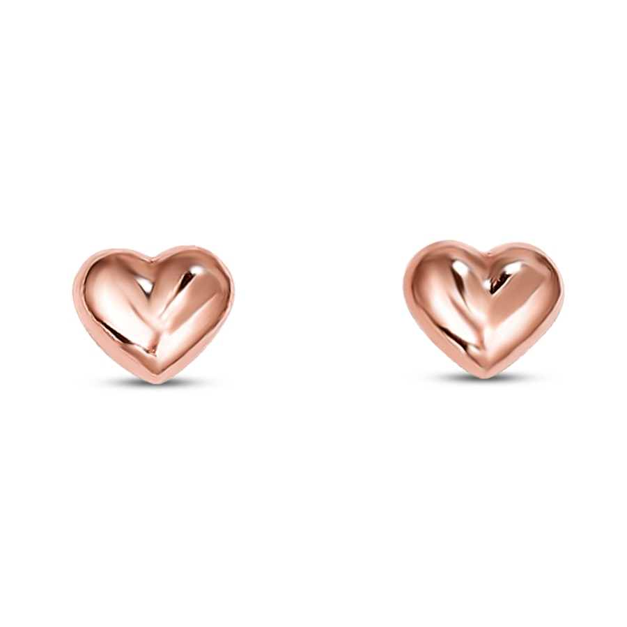 ear studs hollow women pair itm earrings double hoop gold dangle heart