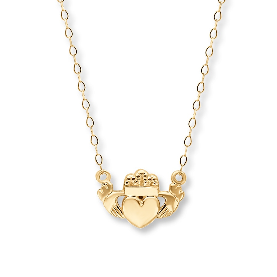 necklace claddagh product