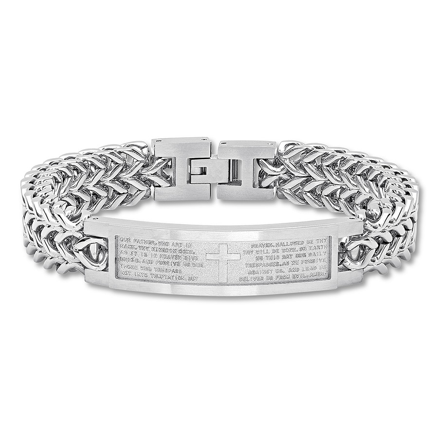 Jared Lord S Prayer Men S Bracelet Stainless Steel 8 5
