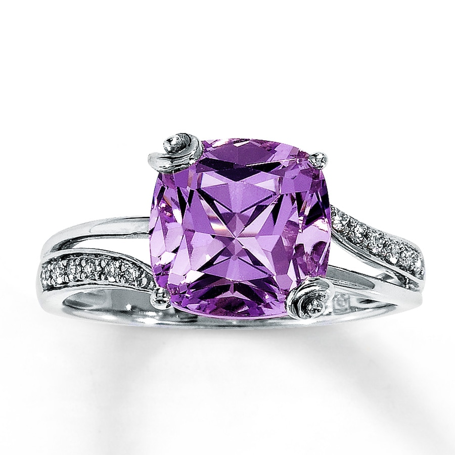 amethyst rings - photo #1