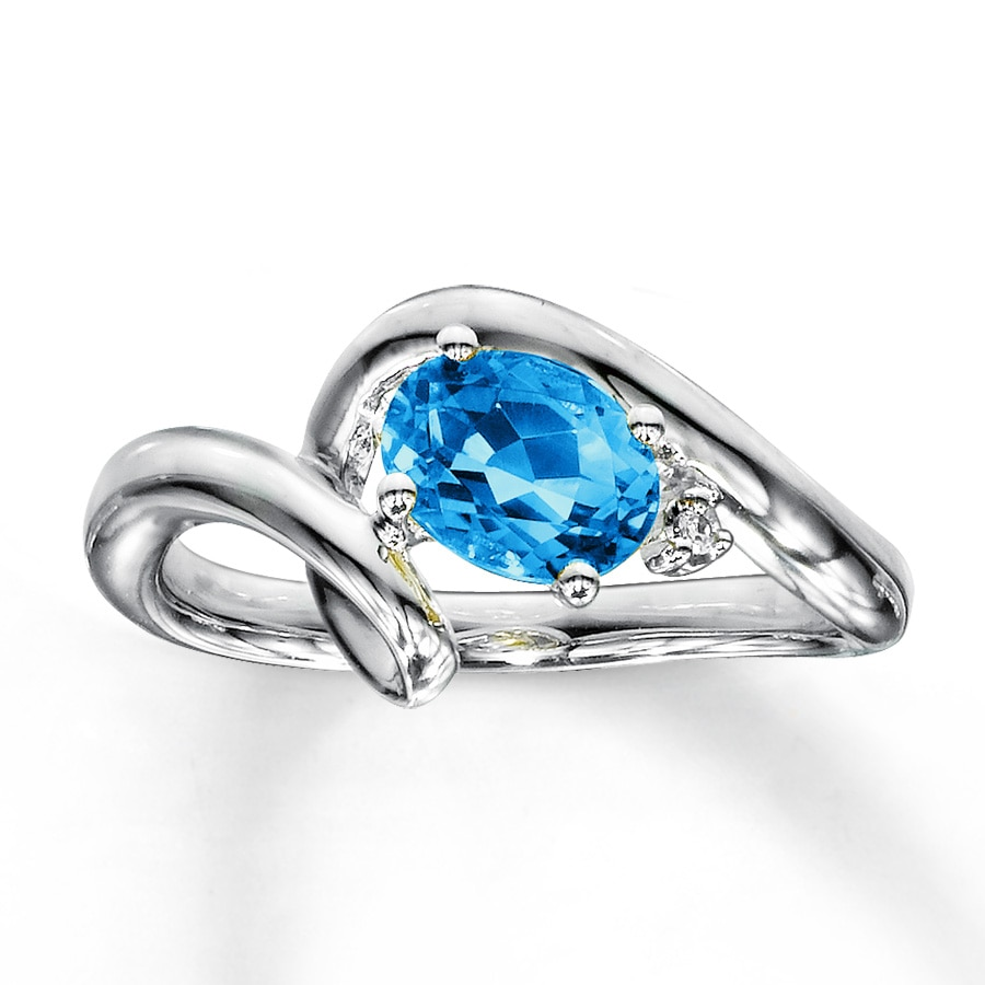 topaz gold ring and rings w white pave blue diamond designer