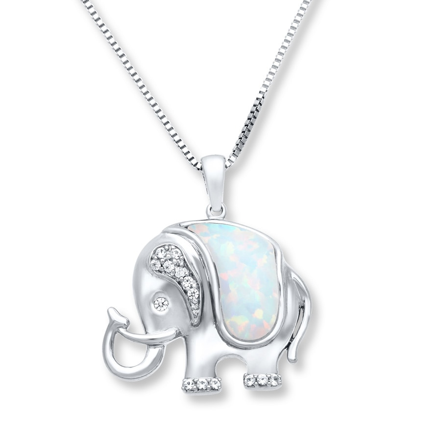 rose amazon pendant com jewelry dp necklace large cut diamond elephant gold