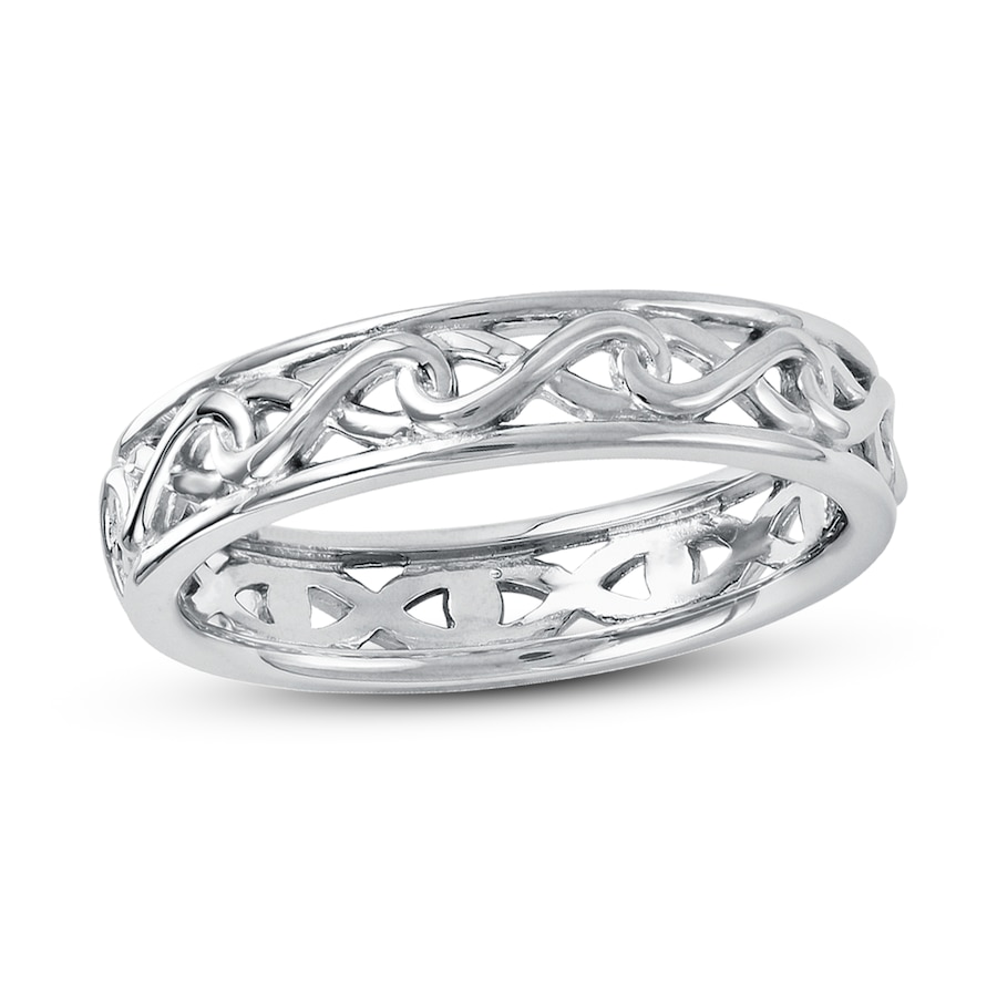 Jared Stackable Ring Sterling Silver