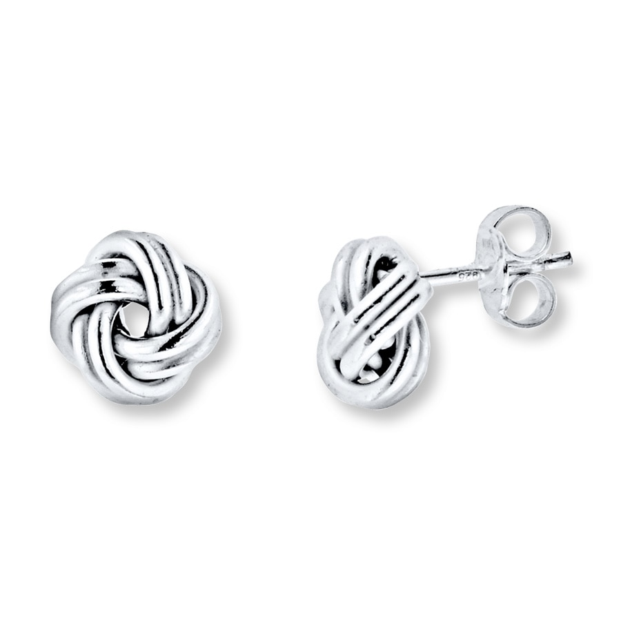 Love Knot Earrings Sterling Silver 506385501 Jared