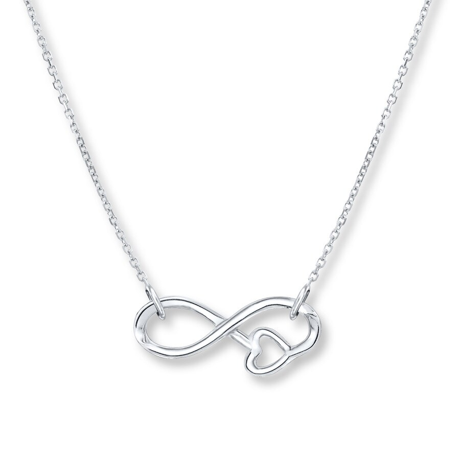 jewelry necklace with infinity personalized lariat sign cross