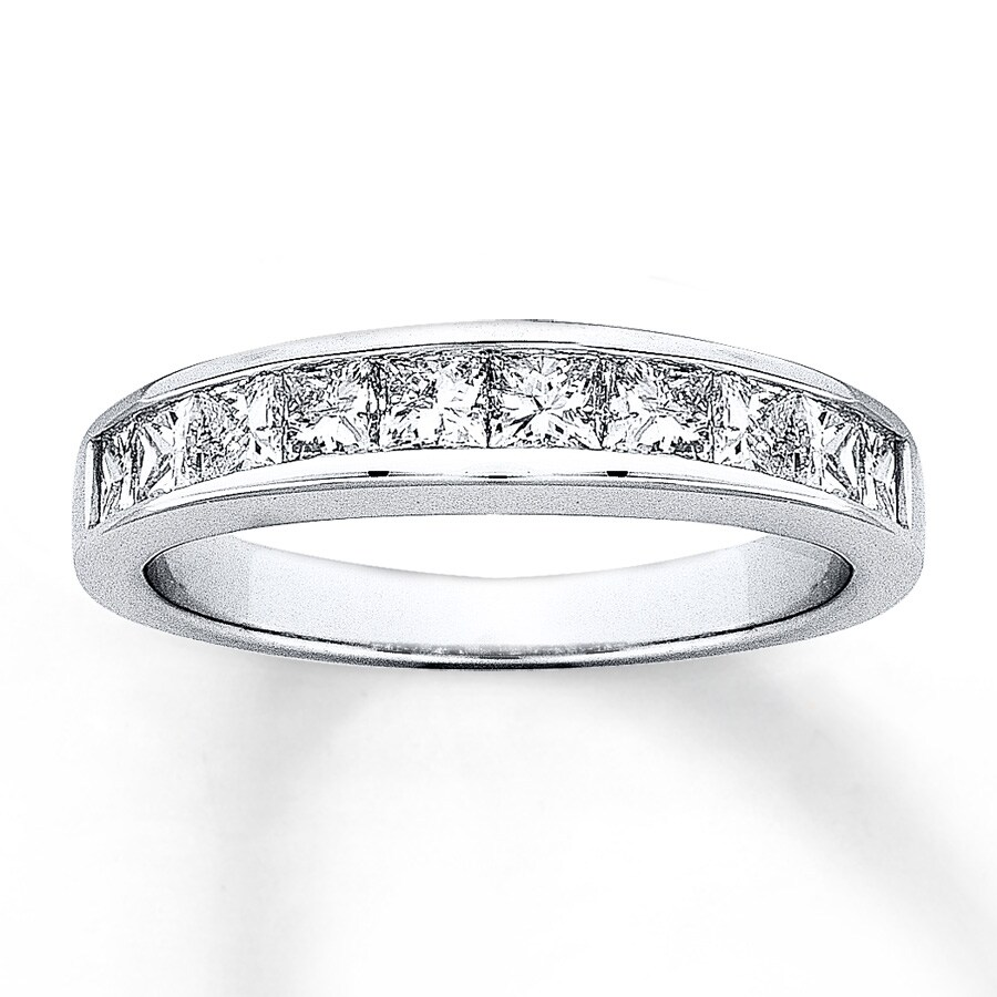 wedding eternity bands classic shop shared jewelers band cut ring princess kravit diamond prong