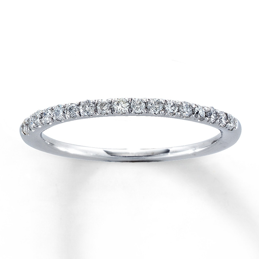 Jared Diamond Anniversary Band 14 ct tw Roundcut 14K White Gold