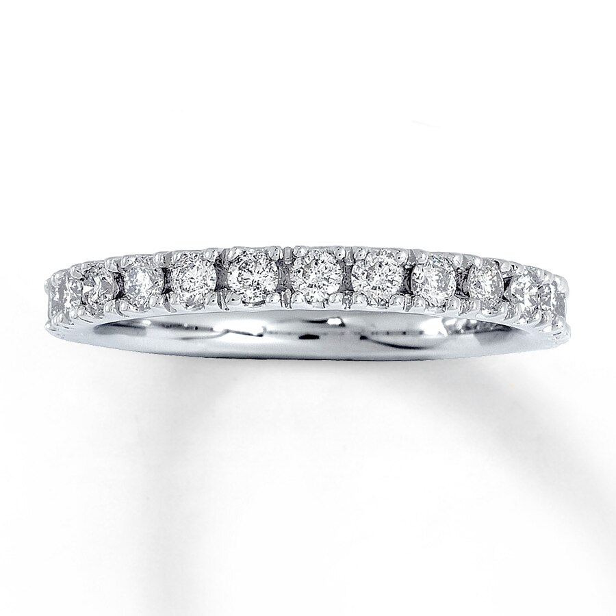 brilliant bands anniversary earth tw wedding diamond white ring eternity ct band top platinum carat