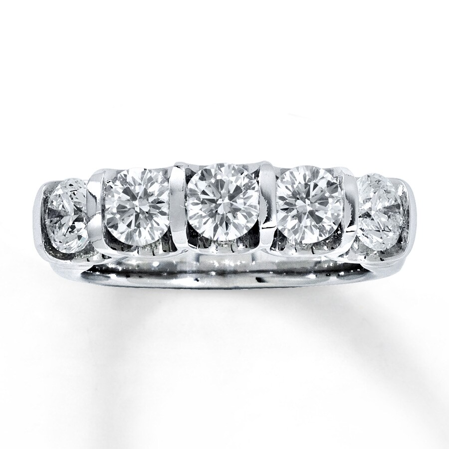 band ct diamond carat cut round bands anniversary prong ring shared product eternity